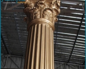 Decorative Wedding Fiberglass Columns Gate Pillar