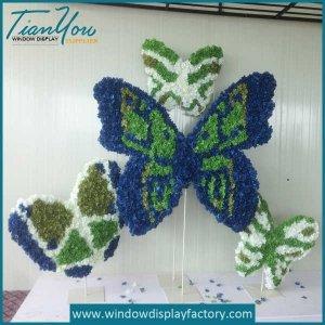 Emulational Foam Paper Butterfly Decoration Window Display Props