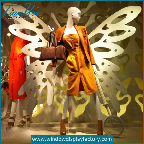 Butterfly Wings Visual Merchandising