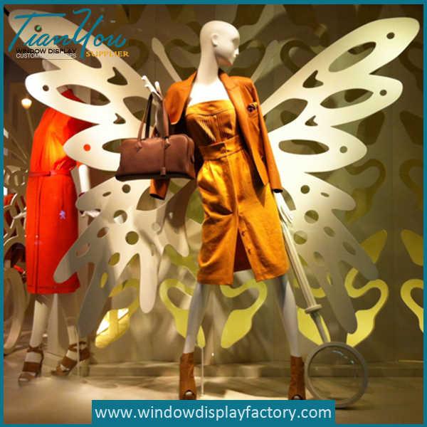 Butterfly Wings Visual Merchandising