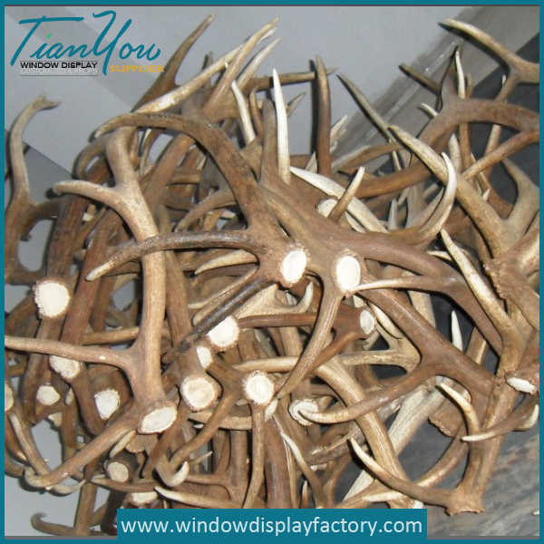 Artificial Life Size Resin Fake Resin Antler Decor Display