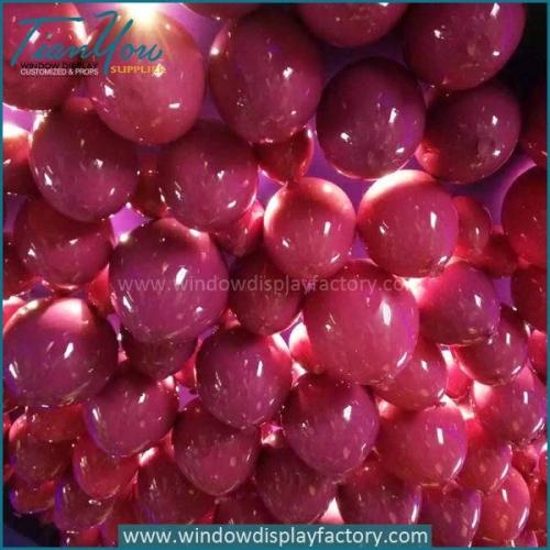 Party festival fiberglass big balloons decorations manufacturers