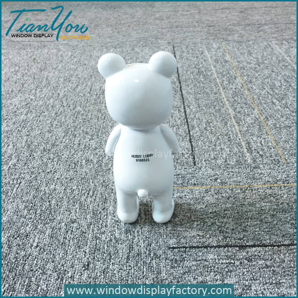Mini Porcelain Bear Statue