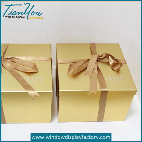 Custom Large Present Paper Box Decoration
