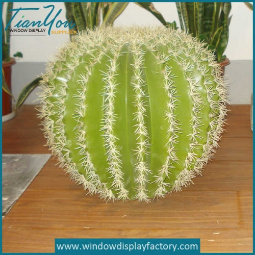 Artificial Round Resin Cactus Decoration Crafts Props