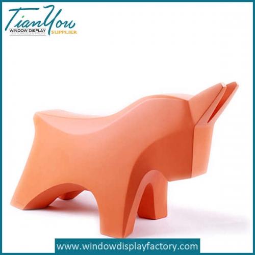 Animal Shape Child Stool Fiberglass Chair