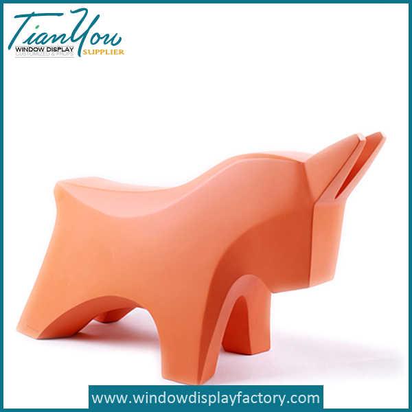 Fiberglass Wooden Horse
