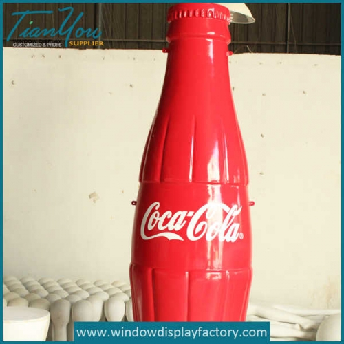 Custom Cocacola Resin Bottle Decoration