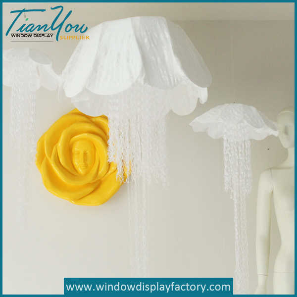 Decoration Large Colorful Foam Flowers Display