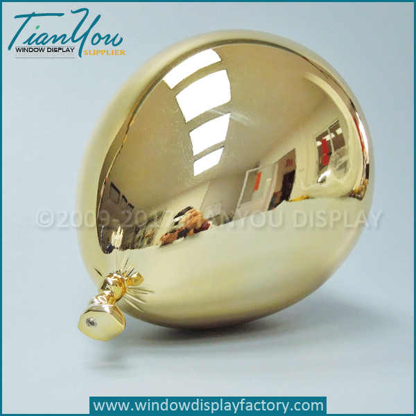 Electroplated golden balloon
