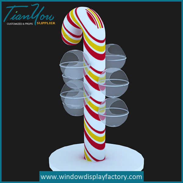 Lollipop Christmas Decorations Giant Candy Props