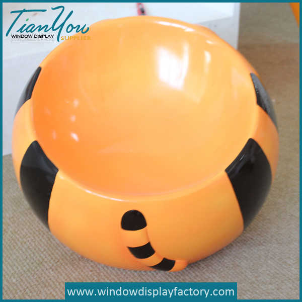 tiger stool3 - Hot Selling Kid Stool Tiger Ball Plastic Chairs