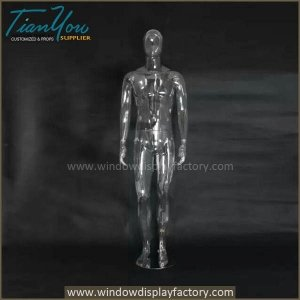 transparent male mannequin