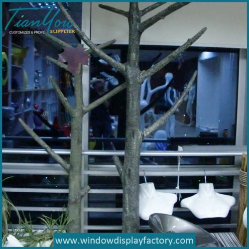 Life Size Fake Fiberglass Tree Display Props