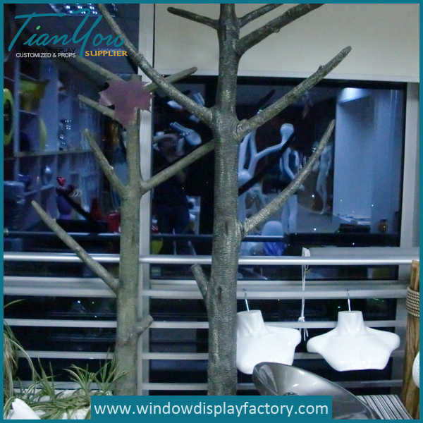 Life Size Fake Fiberglass Artificial Trees Display Props