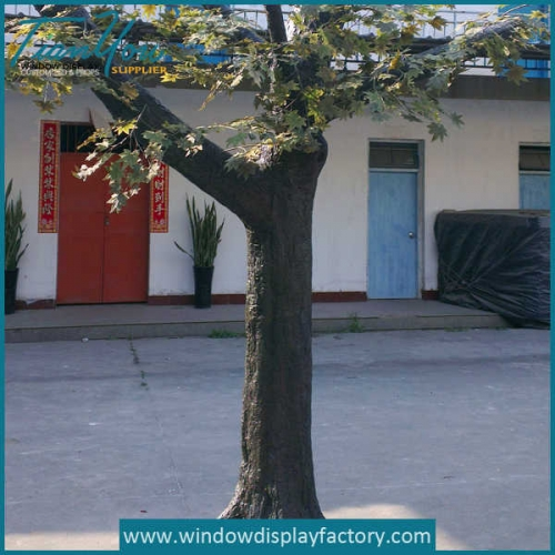 Decor Artificial Fake Giant Fiberglass Tree