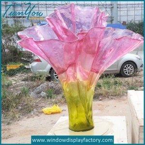 Modern Acrylic Vases Decoration Crafts