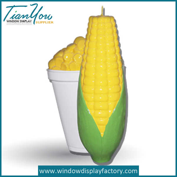 Artificial Resin Fake Corn Stick Decoration Crafts
