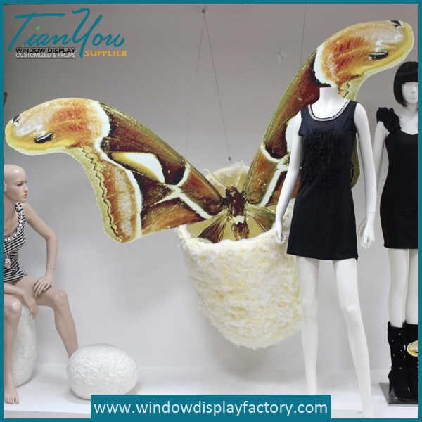 Giant Custom Foam Chrysalis Display Props