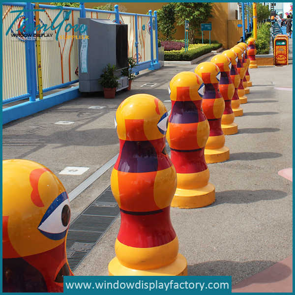 Custom Traffic Safety Fiberglass Road Block