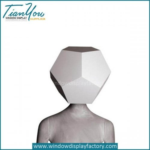 Fashion Male Abstract Art Mannequin Half Body