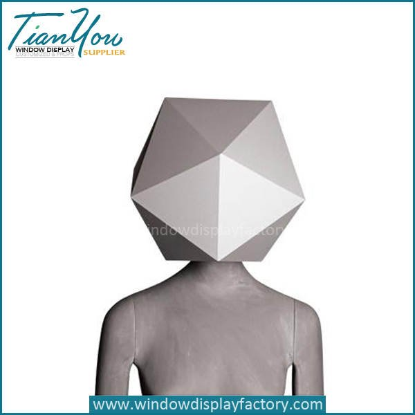 Abstract vintage mannequins - Fashion Male Abstract Art Mannequin Half Body
