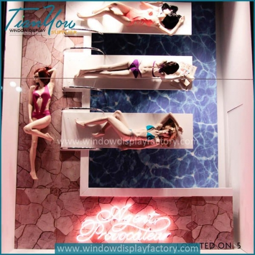 Underwear brands Agent Provocateur windows display