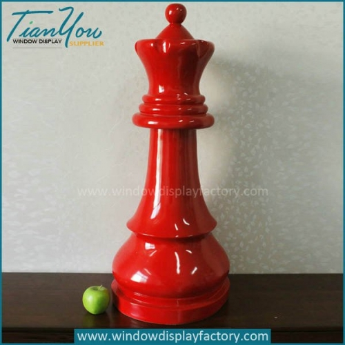 Giant Elegant Plastic Chess Bishop Decoration