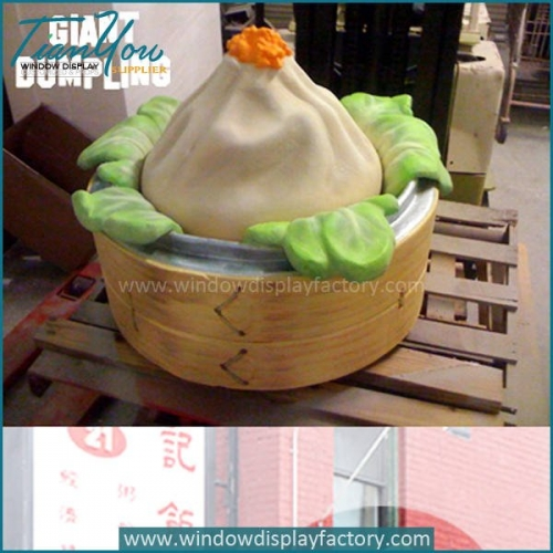 Giant Tastly Chinese Steamed Dumpling Display