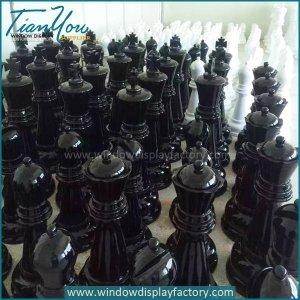 Custom Giant Outdoor Fiberglass Chess