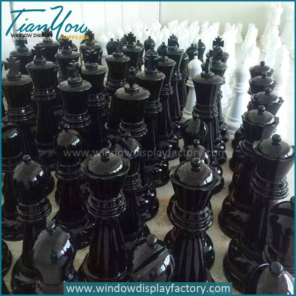 Custom Giant Outdoor Fiberglass Chess