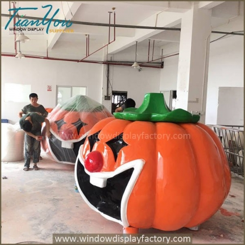 Halloween4 500x500 - Popular Custom Halloween Pumpkin Decoration