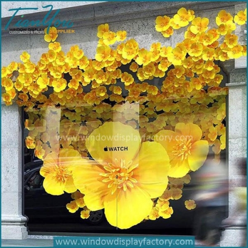 Apple window display