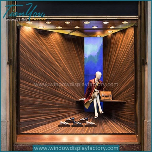 Amazing store window display backdrops