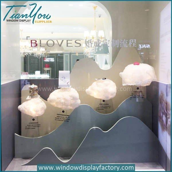 jewellery window display