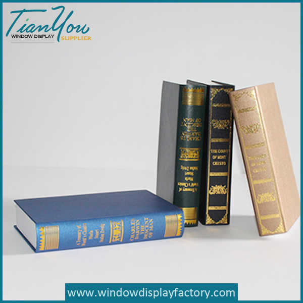 Custom Fake Resin Book Decoration
