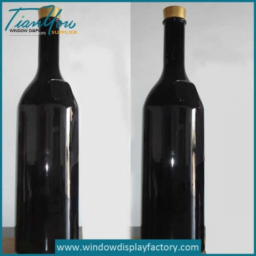 Custom Fake Resin Wine Bottle Display Props