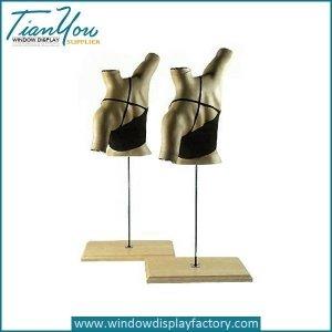 Custome Abstract Female Fiberglass Bra Mannequin