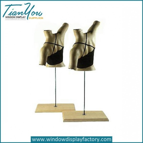 Custome Abstract Female Fiberglass Bra Mannequin