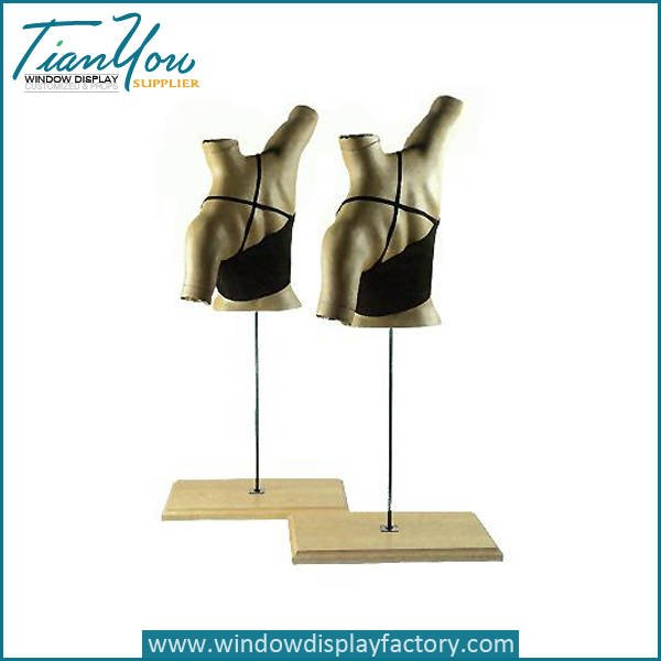 Custom Abstract Female Fiberglass Bra Mannequin