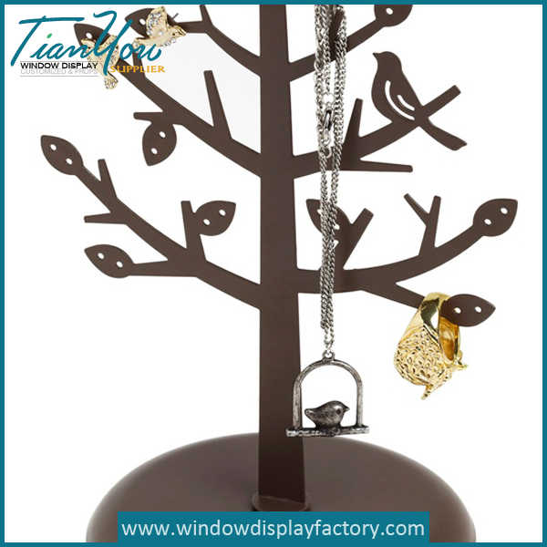 burch - Custom Table Resin Tree Shape Jewellery Display Stands