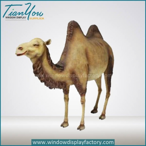 Giant Custom Fiberglass Camel Statue Display Props