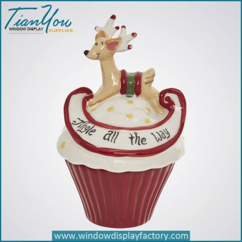 Lovely Popular Ceramic Christmas Gift Decoration