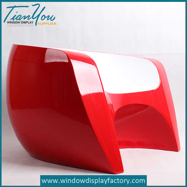 Modern Colorful Fiberglass Chair Furniture