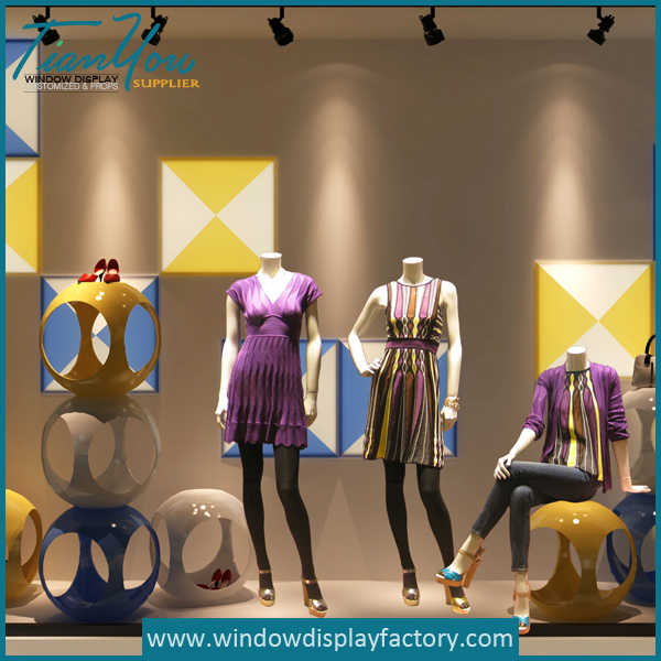 Fashion Modern Colorful Fiberglass Ball Chair Display