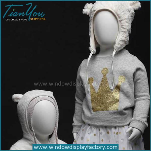 child mannequin - Full Body Fiberglass Child Mannequin for Sale