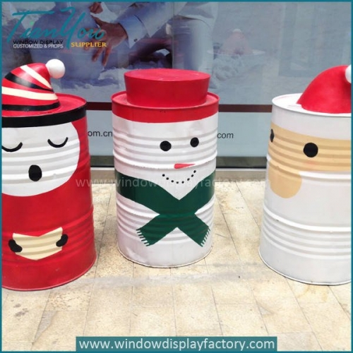 Hand Painted Colorful Christmas Decoration