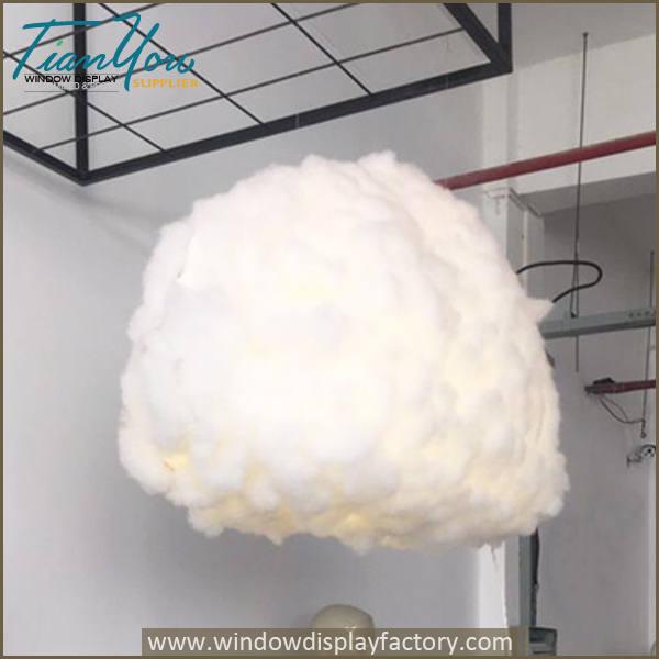 cloud light props3c - Cool Creative Art Cloud Pendant Light Decoration