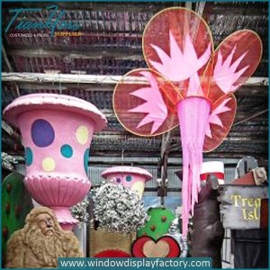 Custom Colorful Lovely Fiberglass Event Display Props