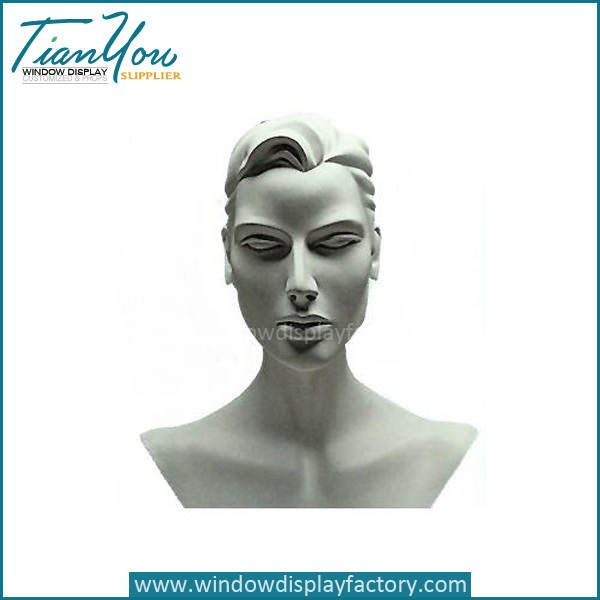Custom Mordern Neck Mannequin Display Props